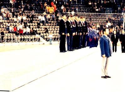 Podium vacío en Munich 1972