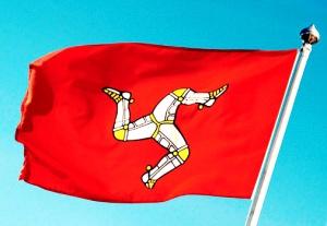 isla de man bandera