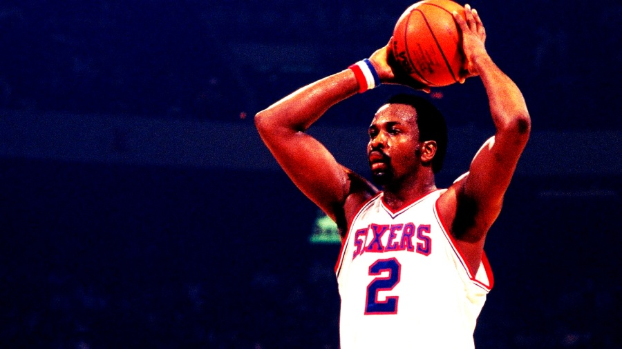 Moses Malone con los Sixers
