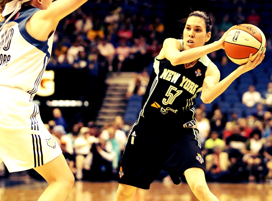 Anna Cruz New York Liberty